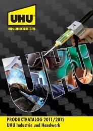 PRODUKTKATALOG 2011/2012 UHU Industrie und Handwerk