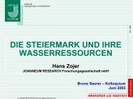 Ref. Zojer - Wasserland Steiermark