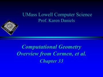 COMP 150 - Computer Science