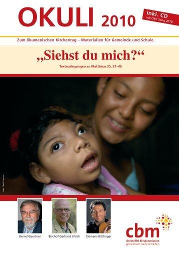 Blick auf den Text - Christoffel-Blindenmission