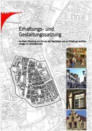 Erhaltungs- und Gestaltungssatzung (435.5 kB) - Stadt Offenburg