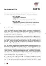 TechnoTrend Aktiengesellschaft Melchior-Bauer-Str