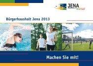 Haushaltsbroschüre 2013 (PDF, 623.6 KB) - Jena