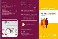 Best of ASCO® Germany Das offizielle Programm