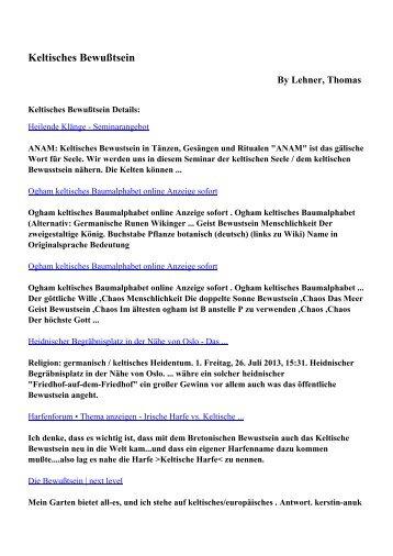 Download Keltisches Bewußtsein pdf ebooks by Lehner, Thomas