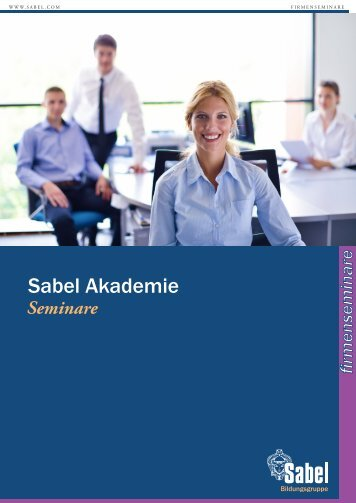 Sabel München | Firmenseminare