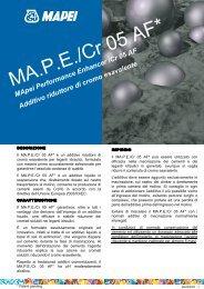 MApeiPerformance Enhancer/Cr05 AF Additivo riduttore di cromo ...