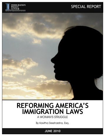 reforming america's immigration laws