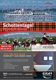 KOSTENLOS! - Ammersee Westufer-Journal