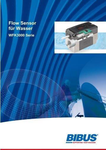 CKD - Flow Sensor für Wasser-Serie WFK3000