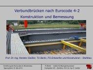Prof. Dr.-Ing. Karsten Geißler Stahlverbundbrücken EC4-2 im ... - VSVI