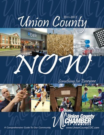 2011-2012 Union County NOW.pdf - Union County Chamber of ...