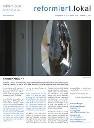 Ausgabe vom 31. Januar 14 - Evangelisch-reformierte Kirche Uster