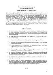 Satzung über die Abfallentsorgung in der Stadt Radevormwald vom ...