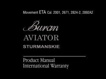 Product Manual International Warranty - Russia 2 All