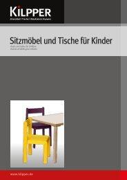 Sitzmöbel und Tische für Kinder