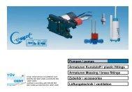 Katalog Pumpen - COMET-PUMPEN Systemtechnik