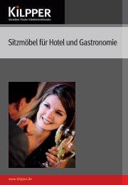 Sitzmöbel Produktübersicht für Hotel und Gastronomie