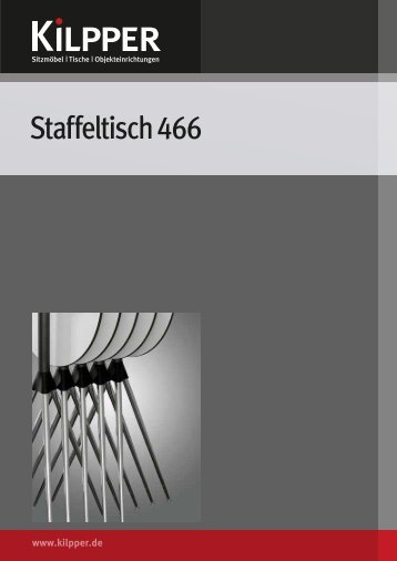 Staffeltisch 466