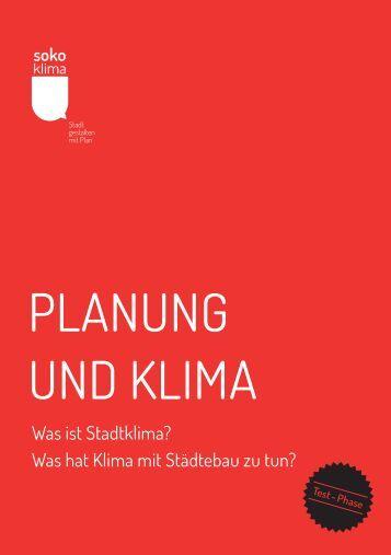 Planung und KlIMa - Soko Klima