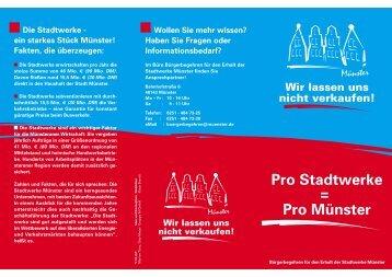 Adobe Acrobat Reader PDF - Bürgerbegehren Stadtwerke Münster