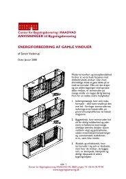 ANVISNINGER til Bygningsbevaring ENERGIFORBEDRING AF ...