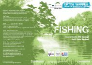 Booking Form - Club Angling Match - Worcestershire County Council