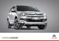 C-Crosser STéFi Brochure Cover - Citroën UK