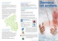 Demenz ist anders - Seniorenzentrum der Barmherzigen Brüder Trier