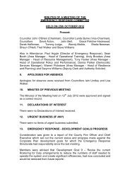 Minutes of Previous Meeting PDF 76 KB - Greater Manchester Fire ...