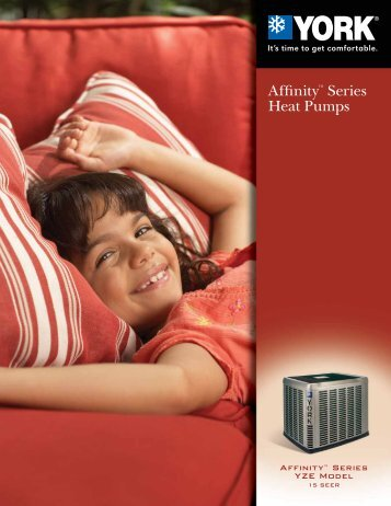 Affinity™ Series Heat Pumps - UPGNet