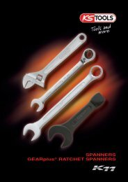 SPANNERS GEARplus® RATCHET SPANNERS