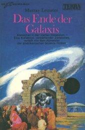 TTB 162 - Leinster, Murray - Das Ende der Galaxis