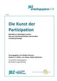 Die Kunst der Partizipation - JBZ-Arbeitspapiere