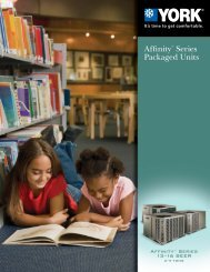 Affinity™ Series Packaged Units - UPGNet