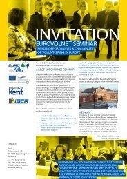 EuroVolNet Seminar invitation (PDF, 0.77 MB) - ISCA