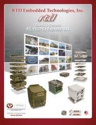 RTD/Target Catalog - RTD Embedded Technologies, Inc.