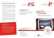 ab 27.09.2012: Fit für's Ehrenamt - Caritasverband Freiburg