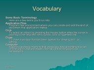 Vocabulary PDF - PML Computer Users Group