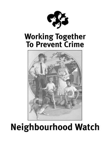 Crime Prevention Handbook - City of Winnipeg