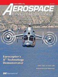 Eurocopter's X Technology Demonstrator - SAE