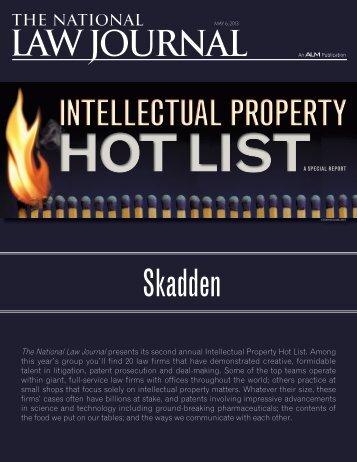 Intellectual Property Hot List - Skadden