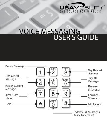 Voicemail instructions - USA Mobility, Inc.