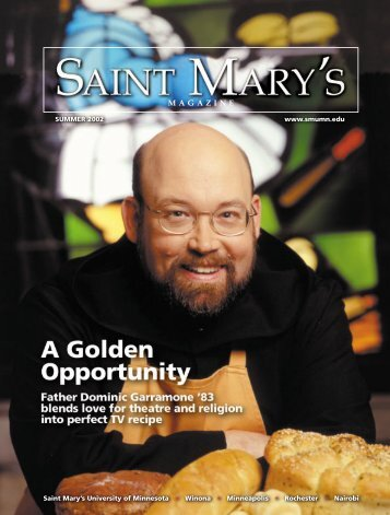 SMU Mag S02 Guts 7-15-02 - Saint Mary's University of Minnesota