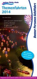 Themenfahrten 2014.pdf - bps bonner personen schifffahrt