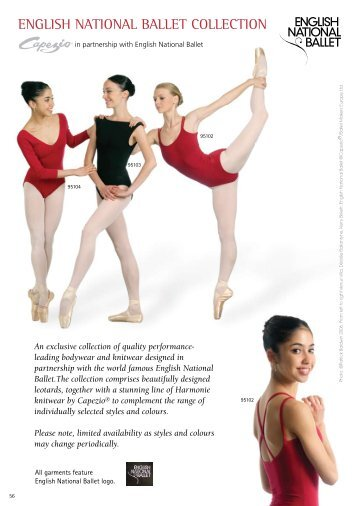 ENGLISH NATIONAL BALLET COLLECTION - Tantsutarbed