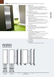 PRODUCTIE VENTIELSET (in optie) AANSLUITING LUxE ... - Thermic