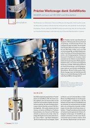 SolidWorks im Einsatz - Solid Solutions AG