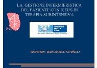 LA GESTIONE INFERMIERISTICA DEL PAZIENTE CON ICTUS IN ...