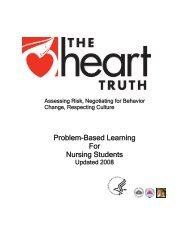 Problem-Based Learning For Nursing Students - WomensHealth.gov